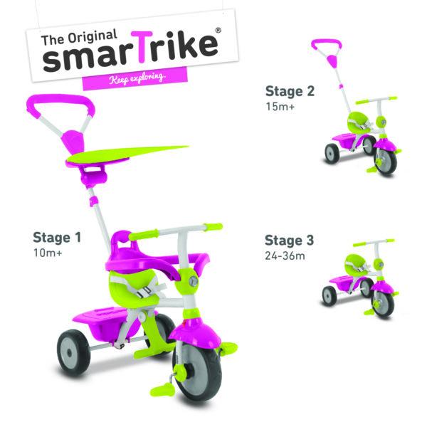 SMART TRIKE ZIP ROSA - SMART TRIKE - Marche - SMART TRIKE