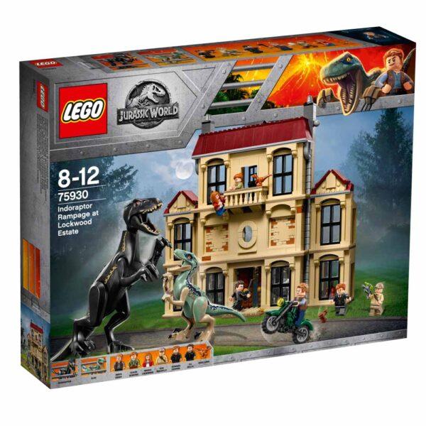 75930 - Attacco dell'Indoraptor al Lockwood Estate - LEGO JURASSIC WORLD - LEGO - Marche ALTRO Unisex 12+ Anni, 5-8 Anni, 8-12 Anni JURASSIC WORLD
