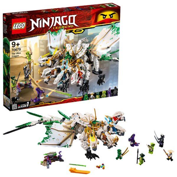LEGO 70679 - L'Ultra dragone LEGO NINJAGO Unisex 12+ Anni, 8-12 Anni ALTRI