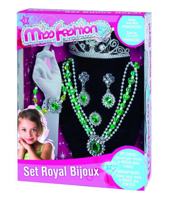 Set Royal bijoux MISS FASHION Femmina 12-36 Mesi, 3-4 Anni, 3-5 Anni, 5-7 Anni ALTRI