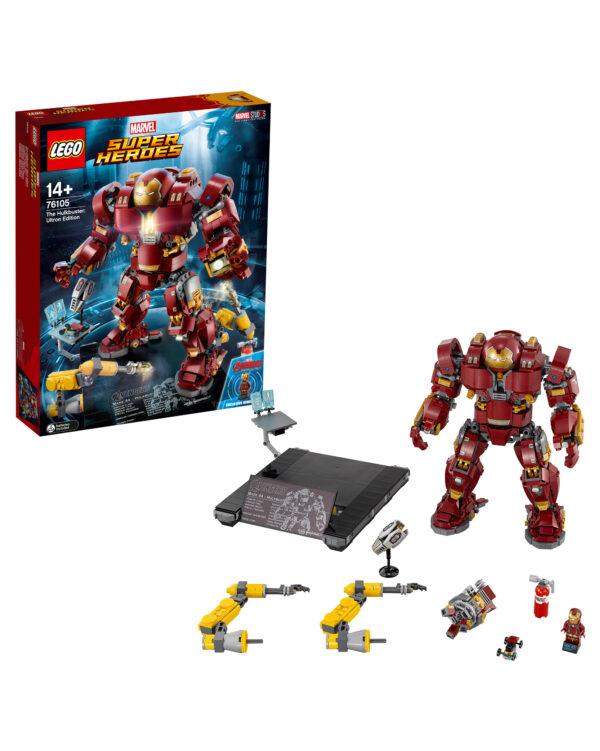 76105 - Hulkbuster: Ultron Edition ALTRO Unisex 12+ Anni, 5-8 Anni, 8-12 Anni ALTRI