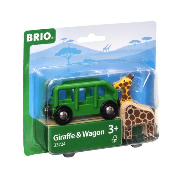 BRIO safari, vagone e animale BRIO Unisex 12-36 Mesi, 3-4 Anni, 3-5 Anni, 5-7 Anni, 5-8 Anni ALTRI