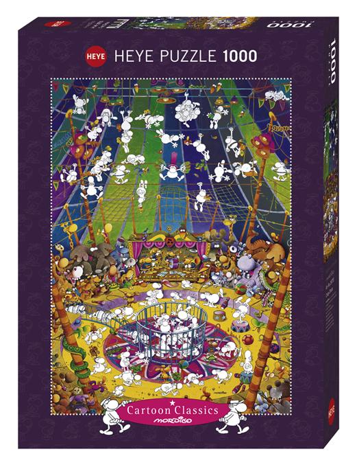 Crazy Circus, Mordillo - Giocattoli Toys Center - ALTRO - Puzzle per adulti