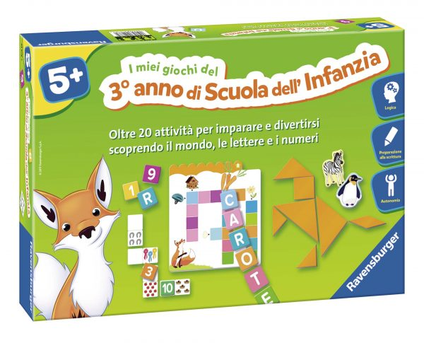 Gioco Educativo Terza Infanzia 5+ ALTRO Unisex 12+ Anni, 3-5 Anni, 5-8 Anni, 8-12 Anni ALTRI
