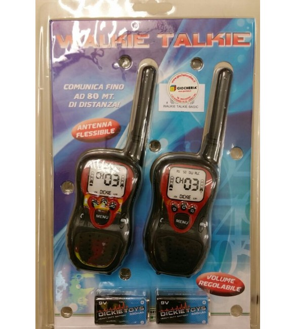 WALKIE TALKIE BASIC ALTRI Unisex 3-5 Anni, 5-8 Anni, 8-12 Anni SUN&SPORT