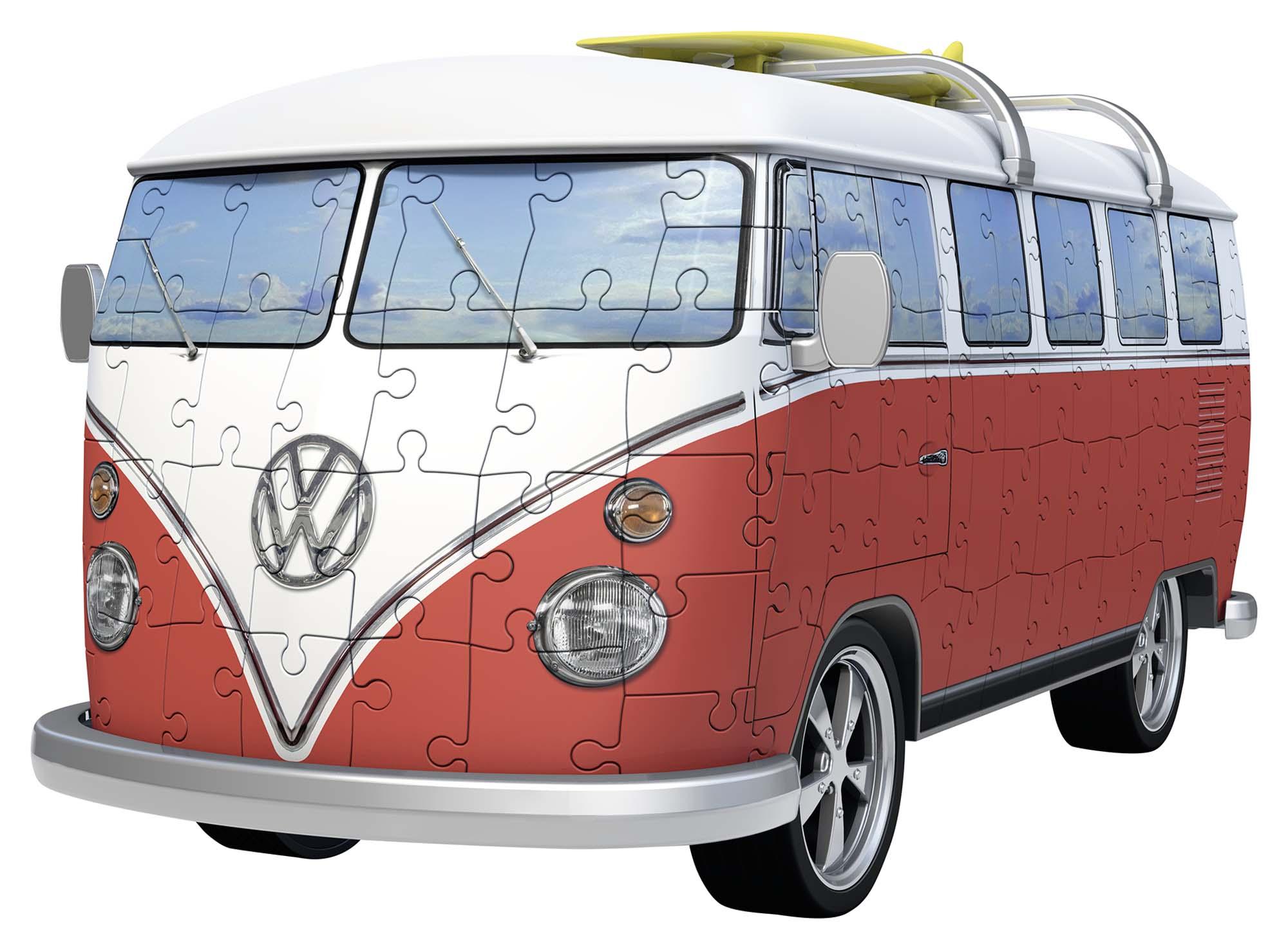 3d puzzle building - camper volkswagen - altro - toys center - ALTRO