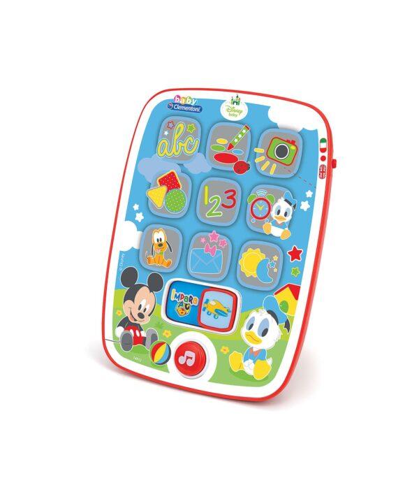 I Tablet diBaby  Mickey Disney Unisex 0-12 Mesi, 0-2 Anni, 12-36 Mesi, 3-5 Anni, 5-8 Anni TOPOLINO&CO.