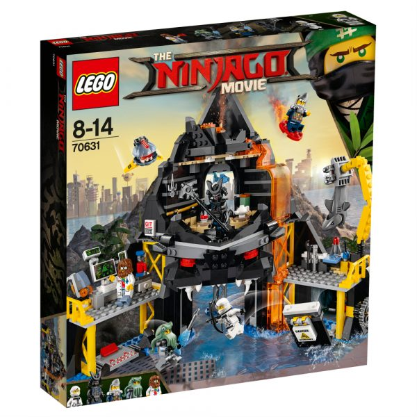 70631 - Il covo vulcanico di Garmadon - Lego Ninjago - Toys Center - LEGO NINJAGO - Costruzioni