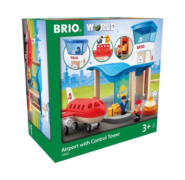 BRIO Set Aeroporto con torre di controllo - Brio Accessori - Toys Center - BRIO ACCESSORI - Giochi per l'infanzia