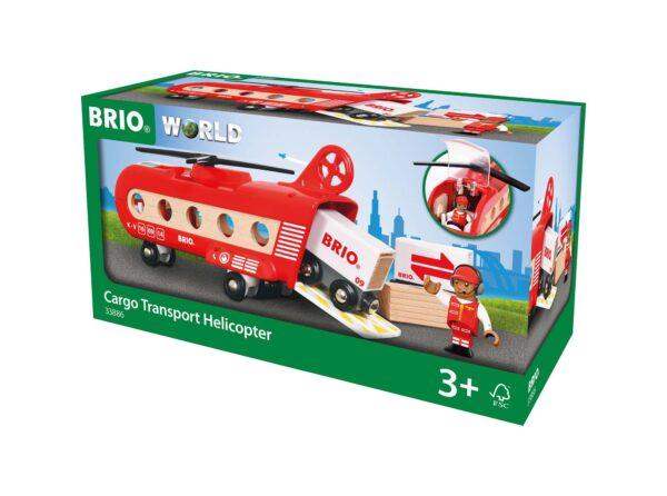 BRIO Elicottero trasporto merci ALTRI Unisex 12-36 Mesi, 3-5 Anni, 5-8 Anni, 8-12 Anni BRIO ACCESSORI