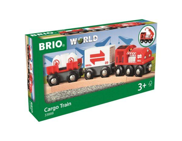 BRIO Treno merci rosso - Brio Trenini, Vagoni E Altri Veicoli - Toys Center ALTRI Unisex 12-36 Mesi, 3-5 Anni, 5-8 Anni, 8-12 Anni BRIO TRENINI, VAGONI E ALTRI VEICOLI