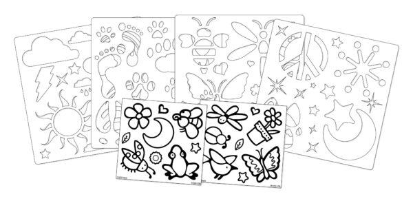 CRAYOLA ALTRI Set Colori per Vetro - Altro - Toys Center Unisex 12+ Anni, 3-5 Anni, 5-8 Anni, 8-12 Anni