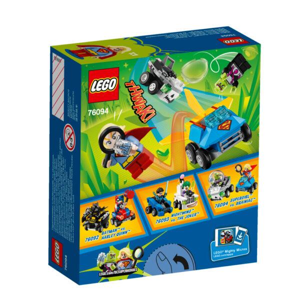 76094 - Mighty Micros: Supergirl™ contro Brainiac™ ALTRI Maschio 12+ Anni, 3-5 Anni, 5-8 Anni, 8-12 Anni LEGO SUPER HEROES