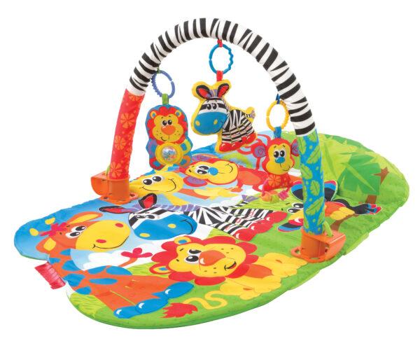 3 in 1 Safari Gym - Altro - Toys Center ALTRO Unisex 0-12 Mesi, 12-36 Mesi ALTRI