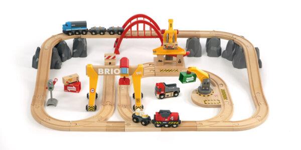 BRIO set deluxe ferrovia e trasporto merci ALTRI Unisex 12-36 Mesi, 3-4 Anni, 3-5 Anni, 5-7 Anni, 5-8 Anni BRIO