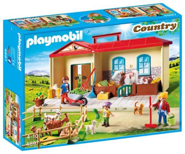 LIM.ED. FATTORIA PORTATILE - Playmobil - Country - Toys Center PLAYMOBIL - COUNTRY Unisex 3-4 Anni, 5-7 Anni, 8-12 Anni ALTRI