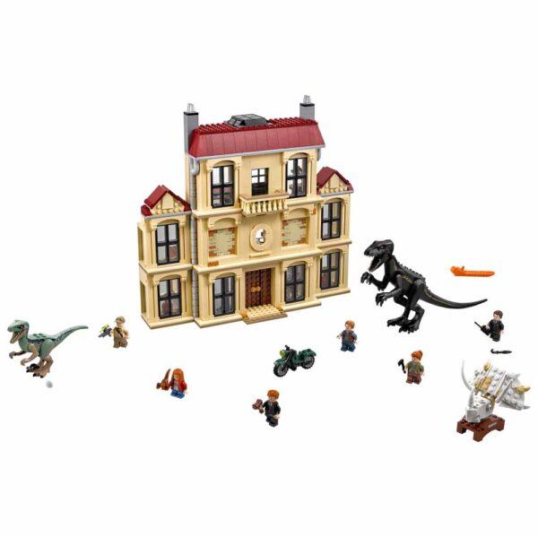 ALTRO JURASSIC WORLD 75930 - Attacco dell'Indoraptor al Lockwood Estate - LEGO JURASSIC WORLD - LEGO - Marche Unisex 12+ Anni, 5-8 Anni, 8-12 Anni