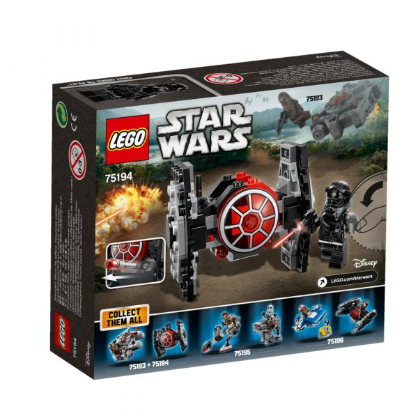 Disney Star Wars 75194 - Microfighter First Order TIE Fighter™ - DISNEY - DISNEY - Marche Maschio 12+ Anni, 5-8 Anni, 8-12 Anni