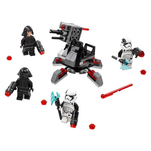 Disney Star Wars 75197 - CONF Battle Pack Ep8 White planet troopers - Età Maschio 12+ Anni, 5-8 Anni, 8-12 Anni