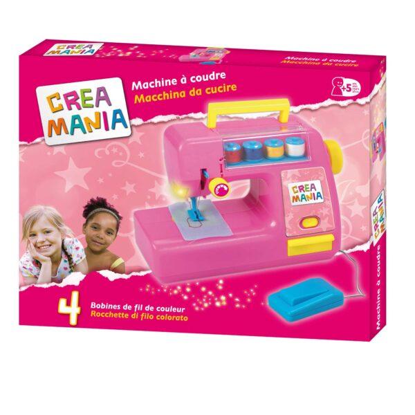 CREAMANIA MACCHINA DA CUCIRE CREAMANIA GIRL Femmina 3-5 Anni, 5-8 Anni ALTRI
