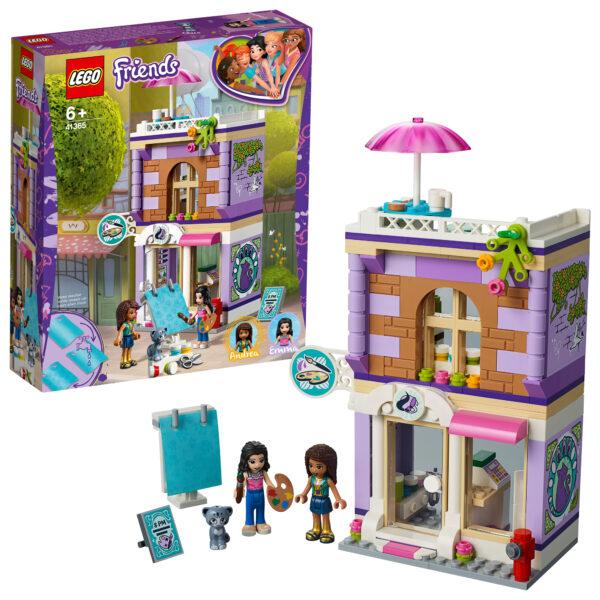 41365 - Lo studio artistico di Emma - Lego Friends - Toys Center LEGO FRIENDS Unisex 12+ Anni, 5-8 Anni, 8-12 Anni ALTRI