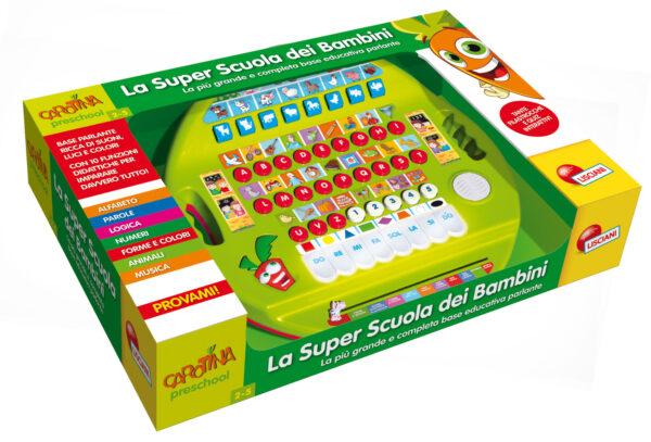 Carotina super scuola dei bambini CAROTINA Unisex 12-36 Mesi, 3-4 Anni, 3-5 Anni, 5-7 Anni, 5-8 Anni ALTRI