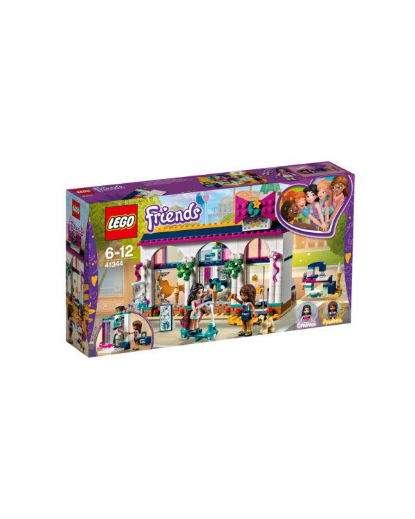 41344 - Il negozio di accessori di Andrea - Età LEGO FRIENDS Unisex 12+ Anni, 5-8 Anni, 8-12 Anni ALTRI