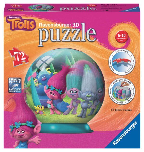 Puzzleball Trolls - Altro - Toys Center - ALTRO - Estate