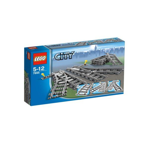 7895 - Scambi per la ferrovia - Lego Best Seller - LEGO - Marche LEGO CITY Unisex 3-5 Anni, 5-7 Anni, 5-8 Anni, 8-12 Anni ALTRI