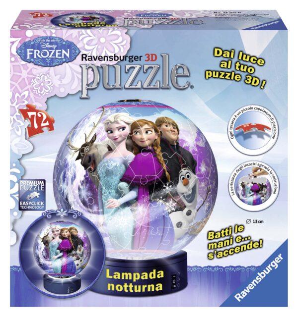 LAMPADA NOTTURA: FROZEN - Disney - Toys Center Disney Femmina 3-5 Anni, 5-7 Anni, 5-8 Anni, 8-12 Anni Disney Frozen