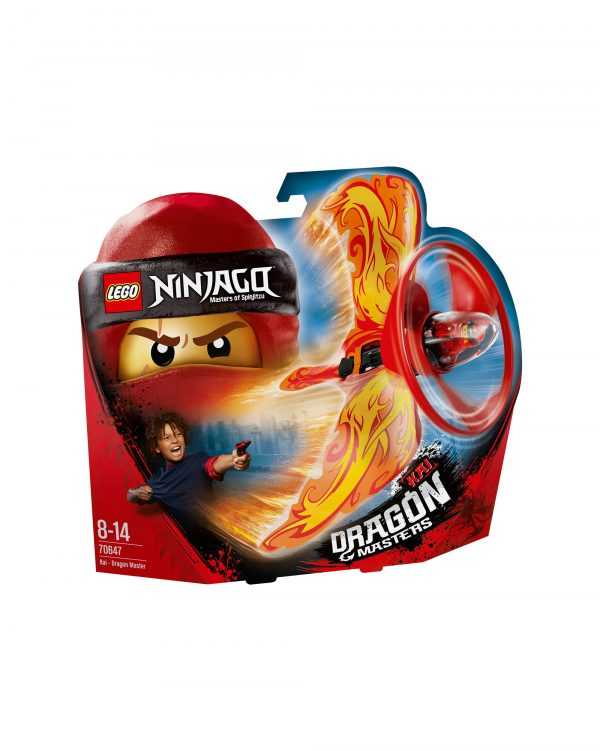 70647 - Kai - Maestro dragone - Lego Ninjago - Toys Center LEGO NINJAGO Unisex 12+ Anni, 5-8 Anni, 8-12 Anni ALTRI