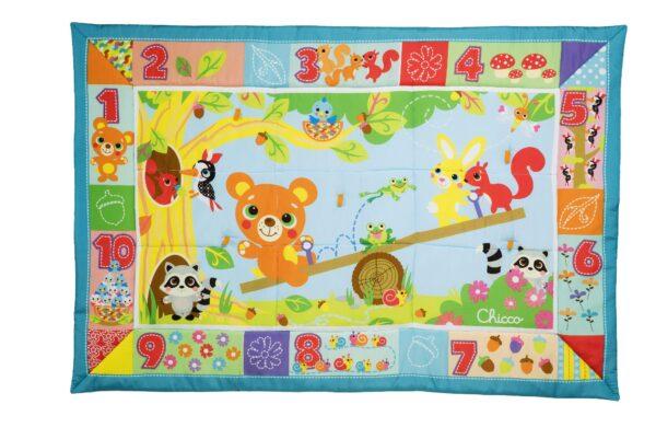TAPPETO XXL FORESTA - Chicco - Toys Center Chicco Unisex 0-12 Mesi, 12-36 Mesi, 12+ Anni, 5-8 Anni, 8-12 Anni ALTRI