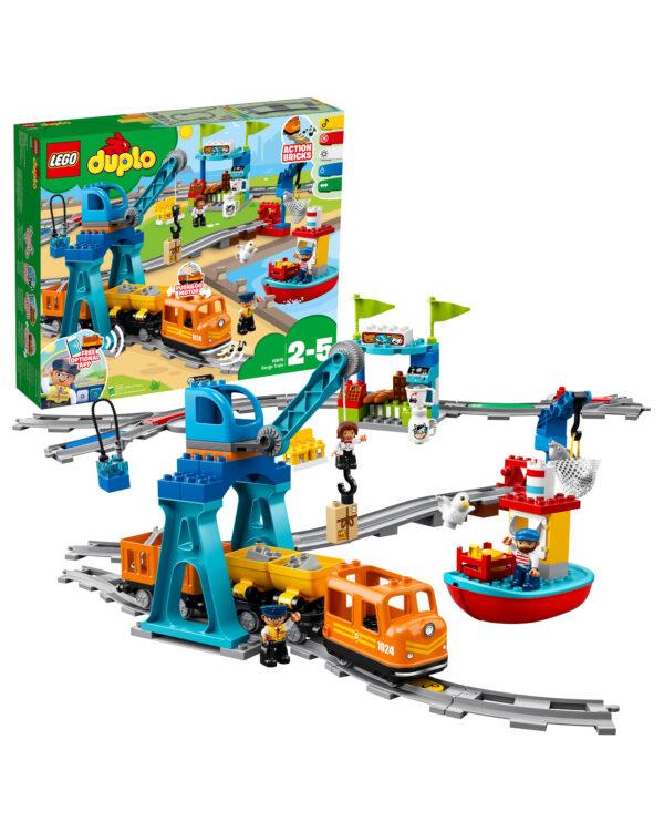 LEGO 10875 - Il grande treno merci LEGO DUPLO Unisex 12-36 Mesi, 12+ Anni, 3-5 Anni, 5-8 Anni, 8-12 Anni ALTRI