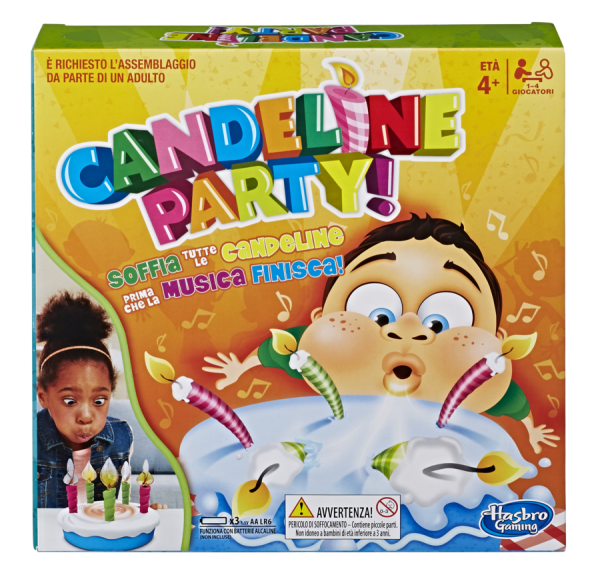 Candeline Party - Hasbro Gaming - Toys Center HASBRO GAMING Unisex 12+ Anni, 3-5 Anni, 5-8 Anni, 8-12 Anni ALTRI