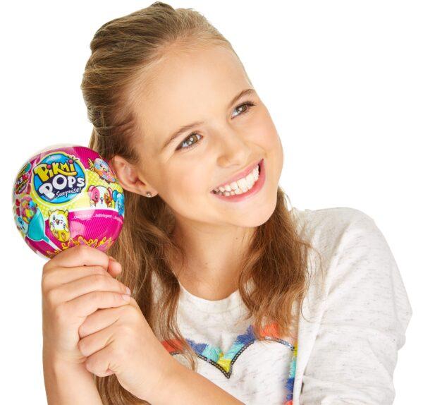 Pikmi Pops Surprise Pack, 2 Peluche Profumati a sorpresa - Età ALTRI Femmina 3-5 Anni, 5-8 Anni, 8-12 Anni PIKMI POPS