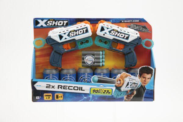 X SHOT 2X RECOIL SUN&SPORT Maschio 12+ Anni, 5-8 Anni, 8-12 Anni ALTRI