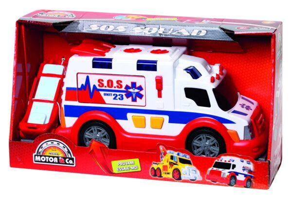MOTOR&CO Veicolo Sos squad Ambulanza MOTOR&CO Maschio 12-36 Mesi, 3-4 Anni, 3-5 Anni, 5-7 Anni, 5-8 Anni ALTRI