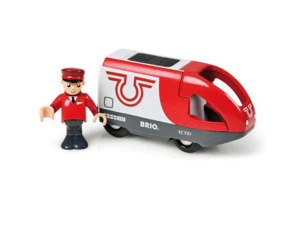 BRIO locomotiva per treno passeggeri a batterie ALTRI Unisex 12-36 Mesi, 3-4 Anni, 3-5 Anni, 5-7 Anni, 5-8 Anni BRIO