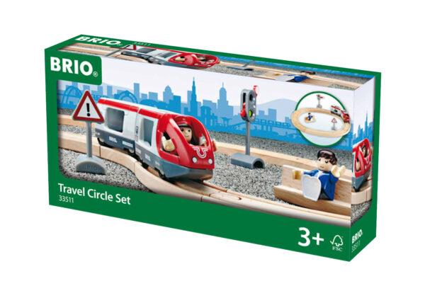BRIO set ferrovia circolare BRIO Unisex 12-36 Mesi, 3-4 Anni, 3-5 Anni, 5-7 Anni, 5-8 Anni ALTRI