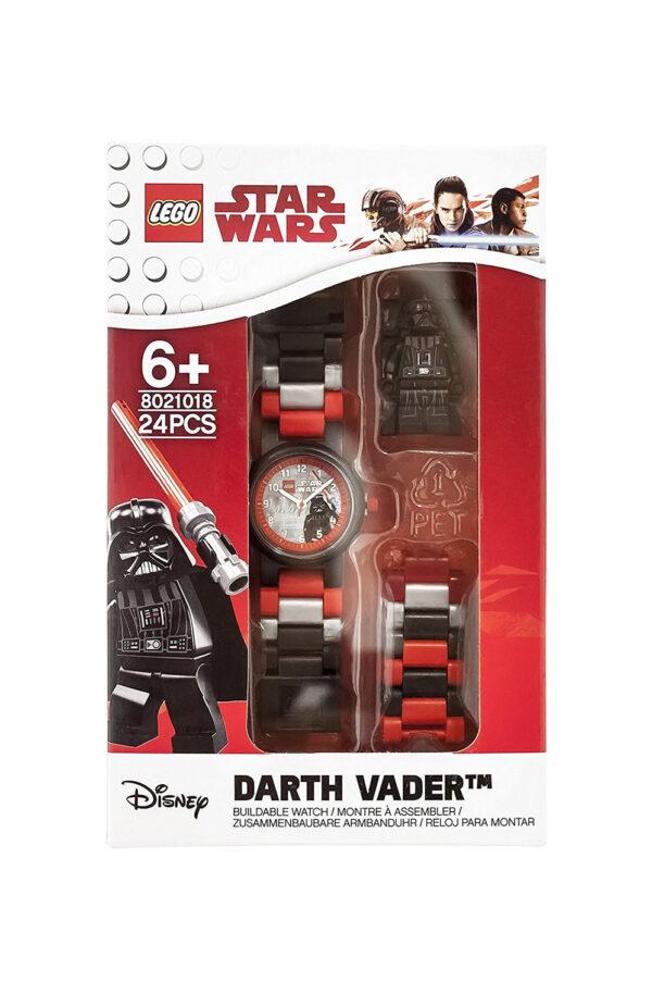 Star Wars Disney Unisex 12+ Anni, 5-8 Anni, 8-12 Anni OROLOGIO LEGO STAR WARS DARTH VADER MFG. - DISNEY - DISNEY - Marche