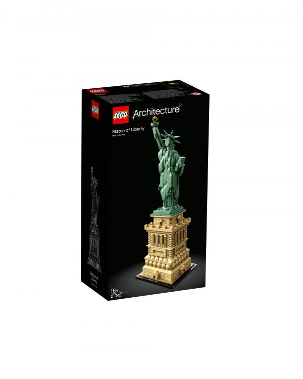 21042 - Statua della Libertà - Lego Architecture - Toys Center LEGO ARCHITECTURE Unisex 12+ Anni ALTRI
