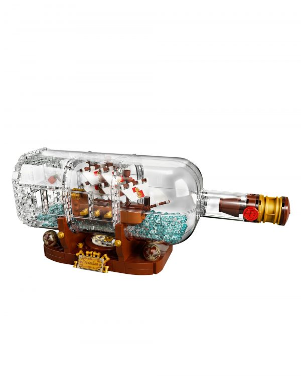 21313 - Nave in bottiglia LEGO IDEAS Unisex 12+ Anni, 8-12 Anni ALTRI