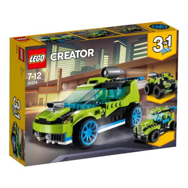 31074 - Auto da rally Rocket - Best Seller Disney - DISNEY - Marche - LEGO CREATOR - Costruzioni
