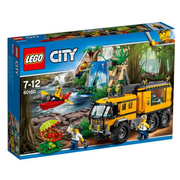 LEGO 60160 - Laboratorio mobile nella giungla - Lego City - Toys Center LEGO CITY Maschio 12+ Anni, 5-8 Anni, 8-12 Anni JURASSIC WORLD