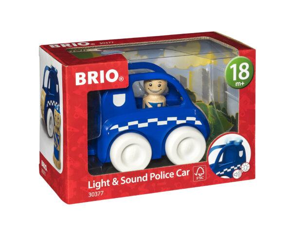 BRIO macchina della polizia luci e suoni BRIO Unisex 0-2 Anni, 12-36 Mesi, 3-4 Anni, 3-5 Anni ALTRI