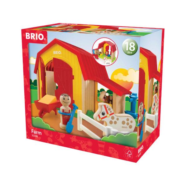 BRIO fattoria BRIO Unisex 0-2 Anni, 12-36 Mesi, 3-4 Anni, 3-5 Anni ALTRI