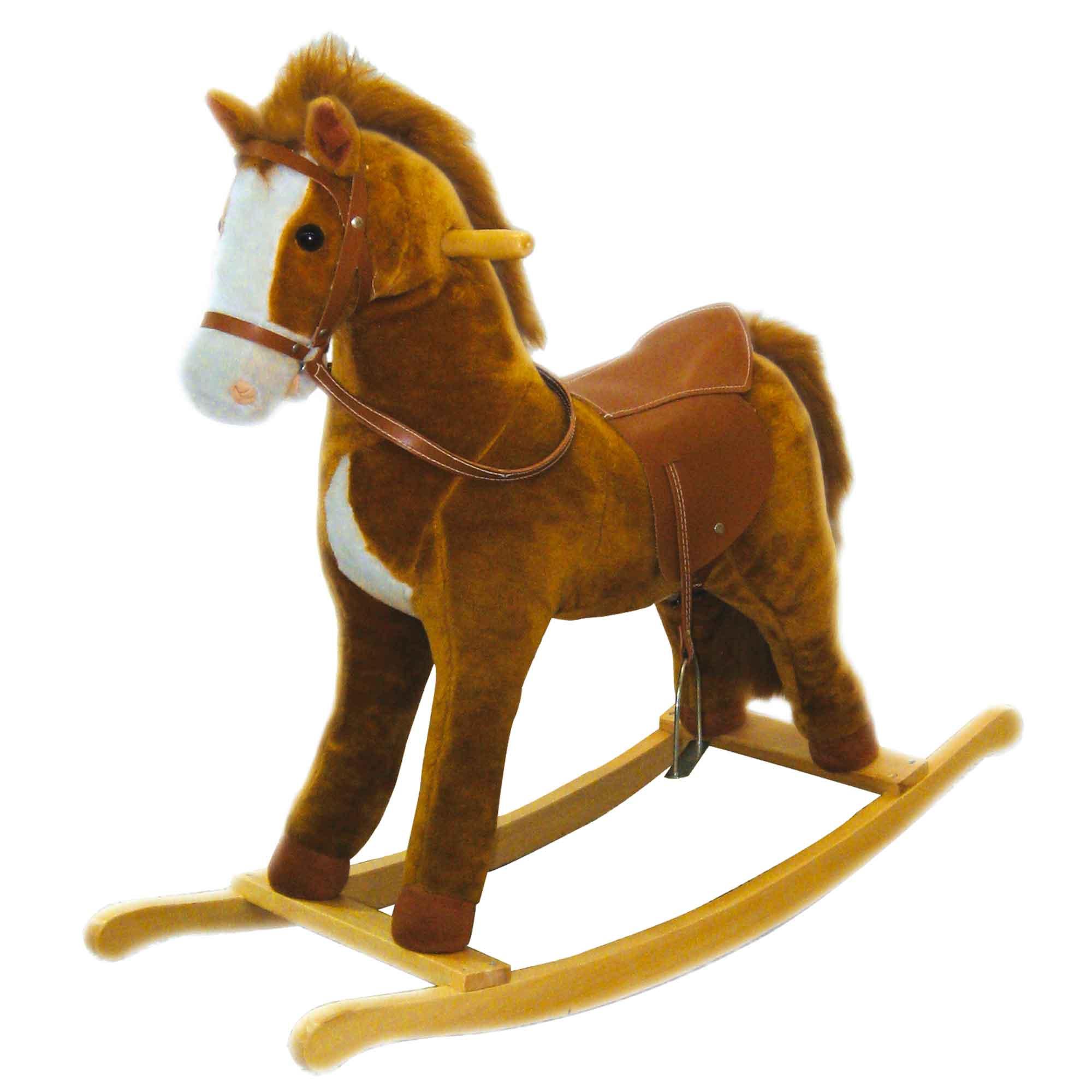 Cavaluccio A Dondolo.Cavallo A Dondolo 90x31x76cm
