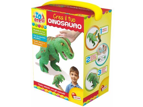 Io Creo Pasta da Modellare Crea il Tuo Dinosauro - Io Creo - Toys Center - IO CREO - Fino al -20%