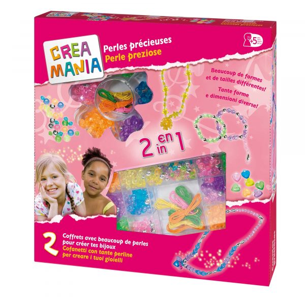 PERLINE 2IN1 - Creamania Girl - Toys Center CREAMANIA GIRL Femmina 3-5 Anni, 5-8 Anni ALTRI