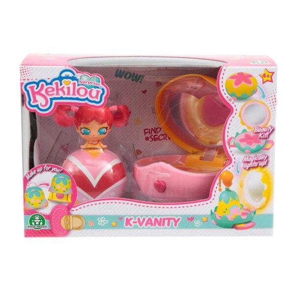 Kekilou Mini Vanity Playset, doll GISELE - Altro - Toys Center ALTRO Femmina 3-5 Anni, 5-8 Anni, 8-12 Anni ALTRI